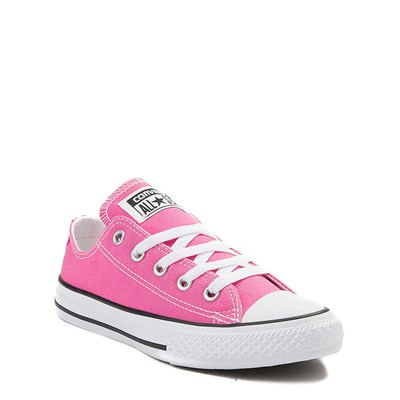 Alternate view of Youth Hot Pink Converse Chuck Taylor All Star Lo Sneaker