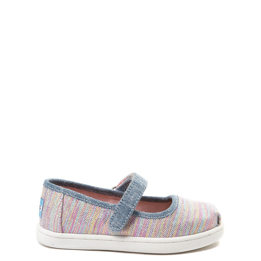 Toddler TOMS Mary Jane Glimmer Casual Shoe
