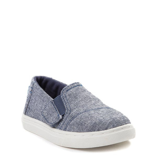 alternate view TOMS Luca Slip On Casual Shoe - Baby / Toddler / Little KidALT1