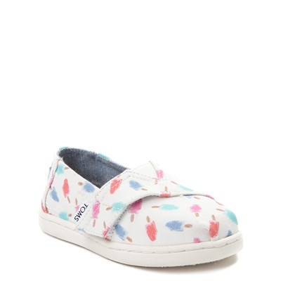 Alternate view of Toddler TOMS Classic Popsicle Slip On Casual Shoe