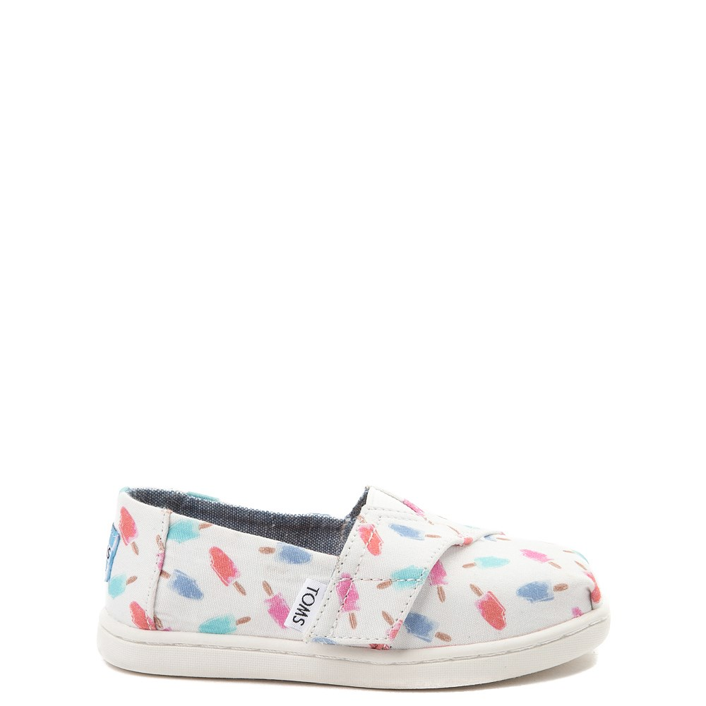 Toddler TOMS Classic Popsicle Slip On Casual Shoe