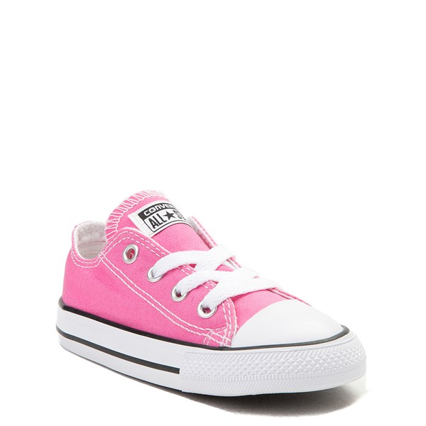 alternate view Converse Chuck Taylor All Star Lo Sneaker - Baby / Toddler - PinkALT1