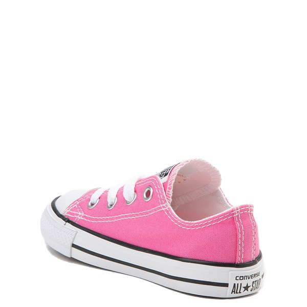 alternate view Converse Chuck Taylor All Star Lo Sneaker - Baby / Toddler - PinkALT2