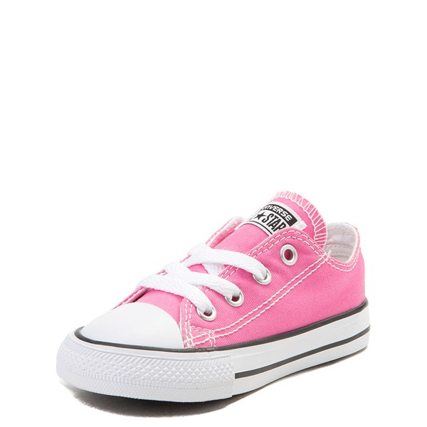 alternate view Converse Chuck Taylor All Star Lo Sneaker - Baby / Toddler - PinkALT3