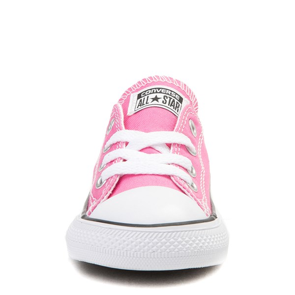 alternate view Converse Chuck Taylor All Star Lo Sneaker - Baby / Toddler - PinkALT4