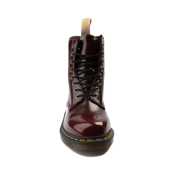 alternate view Dr. Martens 1460 8-Eye Vegan Boot - BurgundyALT4