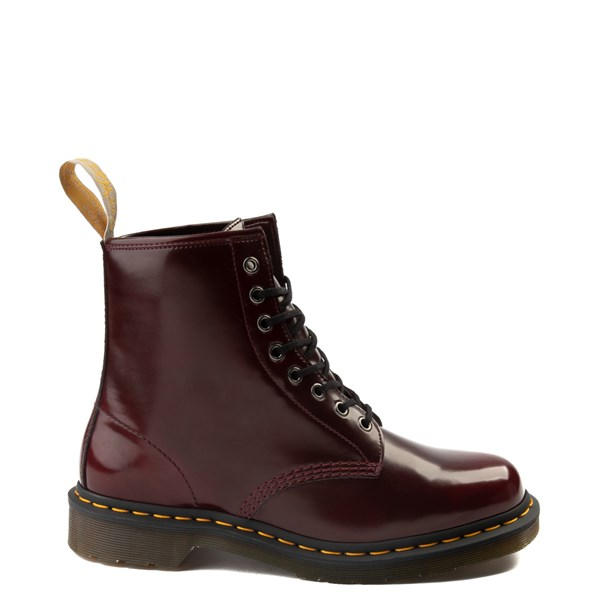 Main view of Dr. Martens 1460 8-Eye Vegan Boot - Burgundy