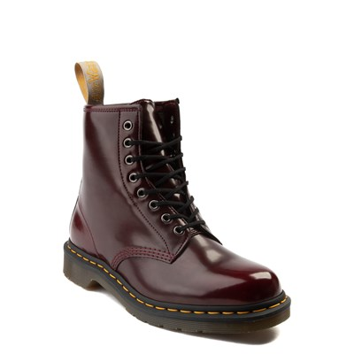 Alternate view of Dr. Martens 1460 8-Eye Vegan Boot - Burgundy