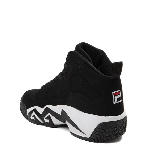 alternate view Fila MB Athletic Shoe - Big Kid - Black / White / RedALT2