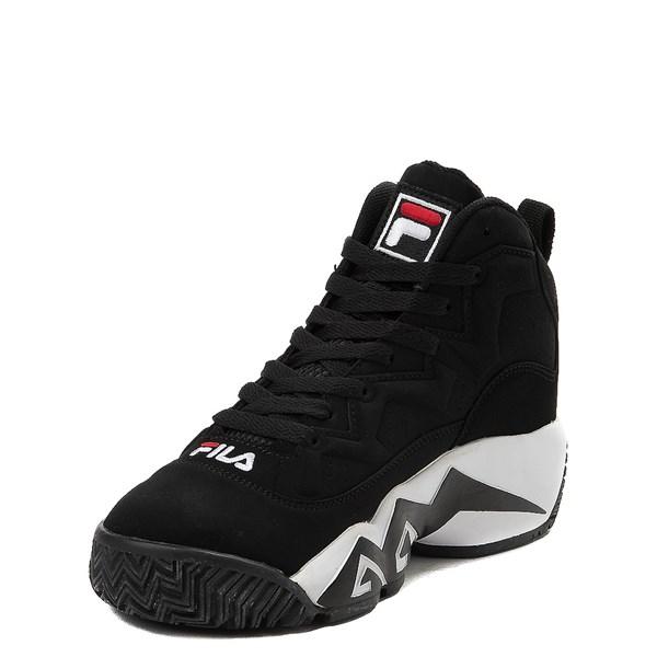alternate view Fila MB Athletic Shoe - Big Kid - Black / White / RedALT3