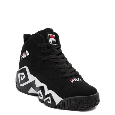 Alternate view of Fila MB Athletic Shoe - Big Kid - Black / White / Red