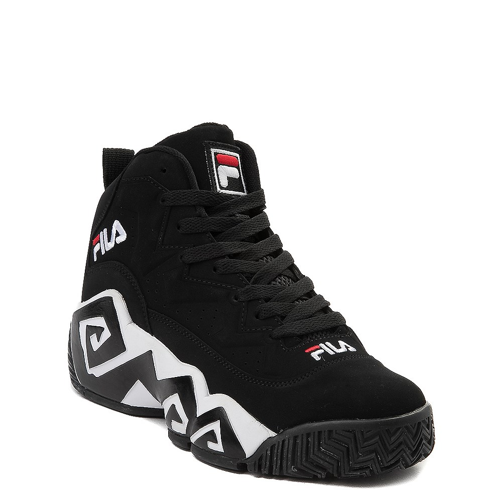 Fila MB Athletic Shoe Big Kid Black White Red