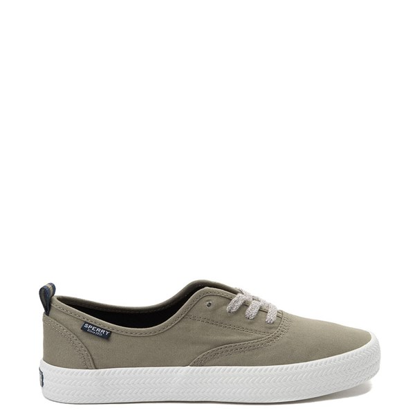Womens Sperry Top-Sider Crest Knot Casual Shoe - Olive