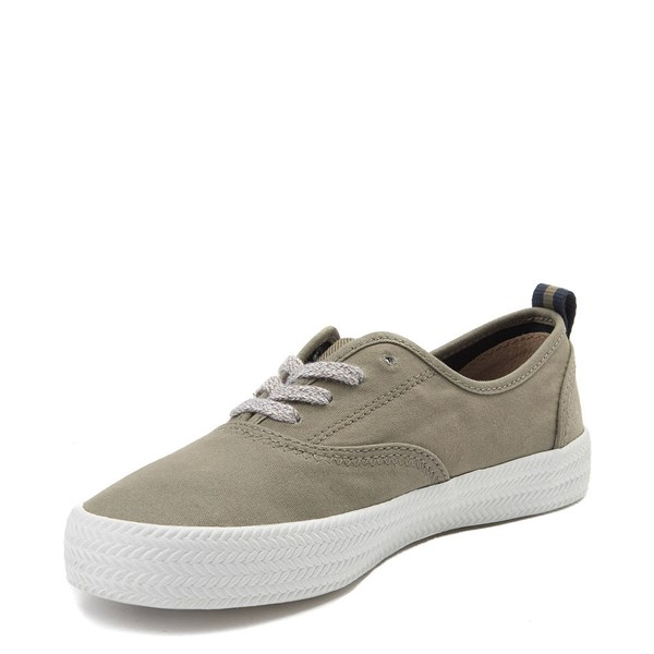 alternate view Womens Sperry Top-Sider Crest Knot Casual Shoe - OliveALT3