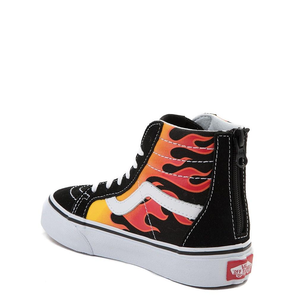 Youth Vans Sk8 Hi Flames Skate Shoe. Previous. ALT1. ALT2 c33260647