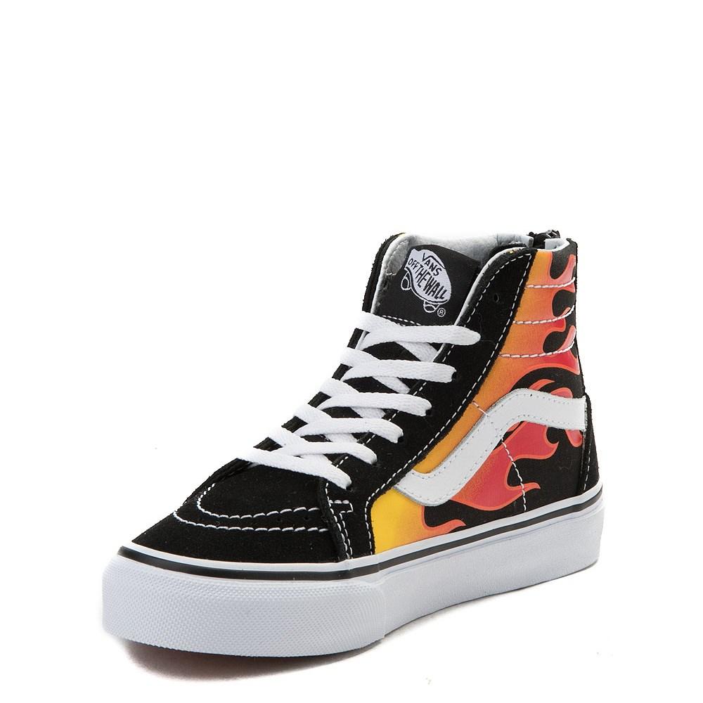 Youth Vans Sk8 Hi Flames Skate Shoe. Previous. ALT1. ALT2. ALT3 bedabb95d