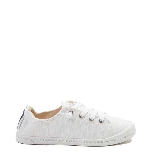 Womens Roxy Bayshore Casual Shoe - White