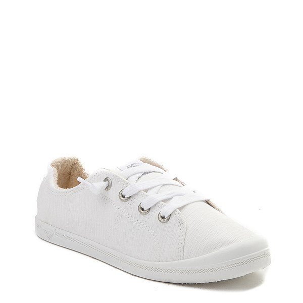 alternate view Womens Roxy Bayshore Casual Shoe - WhiteALT1