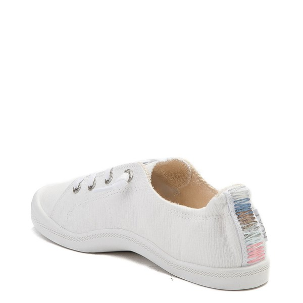 alternate view Womens Roxy Bayshore Casual Shoe - WhiteALT2