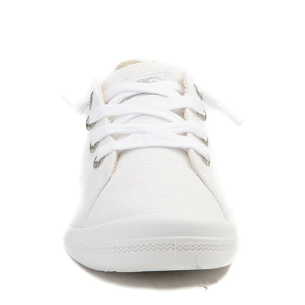 alternate view Womens Roxy Bayshore Casual Shoe - WhiteALT4
