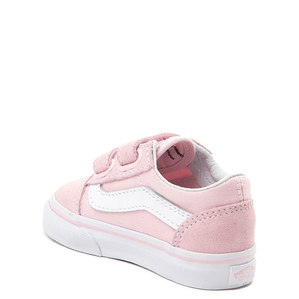 alternate view Vans Old Skool V Skate Shoe - Baby / Toddler - Light PinkALT2