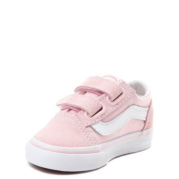 alternate view Vans Old Skool V Skate Shoe - Baby / Toddler - Light PinkALT3
