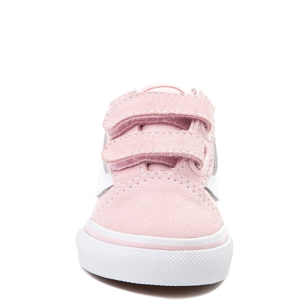 alternate view Vans Old Skool V Skate Shoe - Baby / Toddler - Light PinkALT4