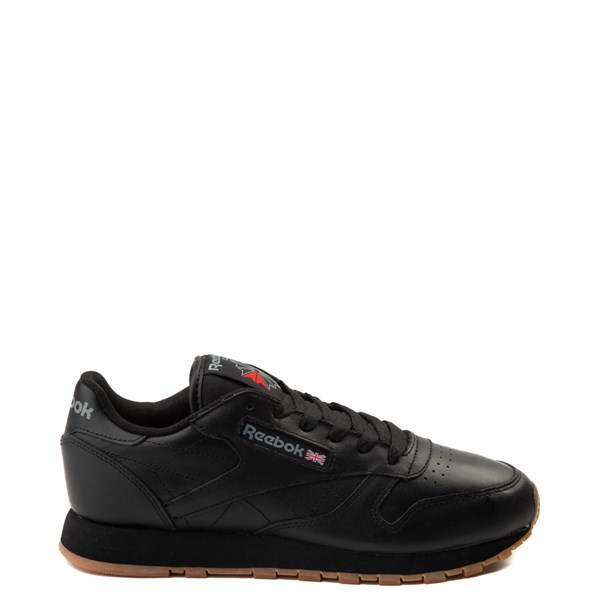 Womens Reebok Classic Athletic Shoe - Black / Gum