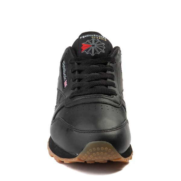 alternate view Womens Reebok Classic Athletic Shoe - Black / GumALT4