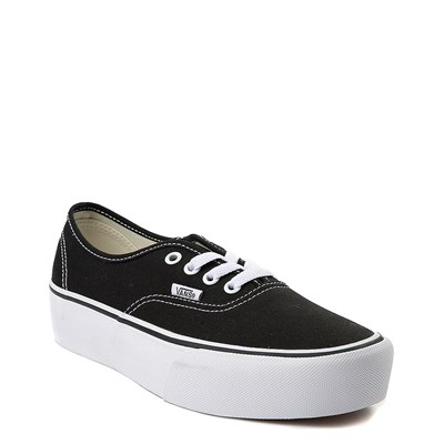 Alternate view of Vans Black  Authentic Platform Skate Shoe