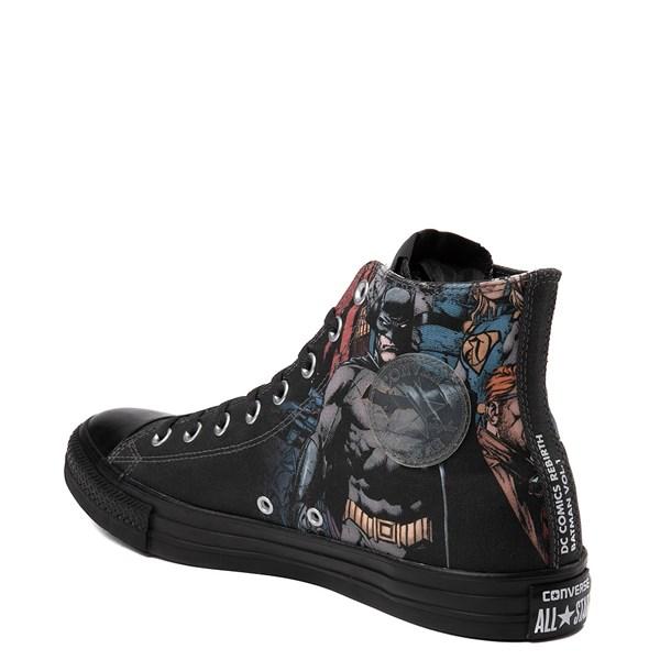 alternate view Converse Chuck Taylor All Star Hi DC Comics Batman SneakerALT2