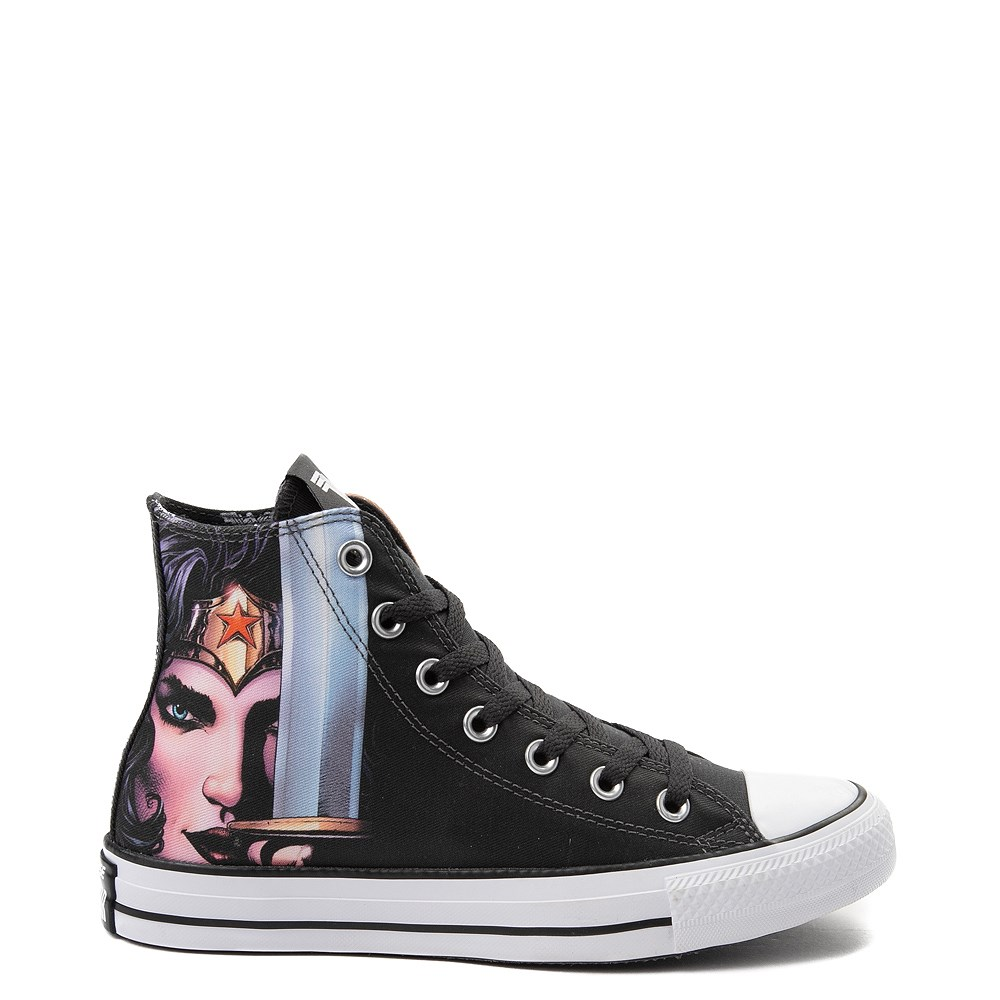 f08667b3046e Converse Chuck Taylor All Star Hi DC Comics Wonder Woman Sneaker. Previous.  alternate image ALT6. alternate image default view