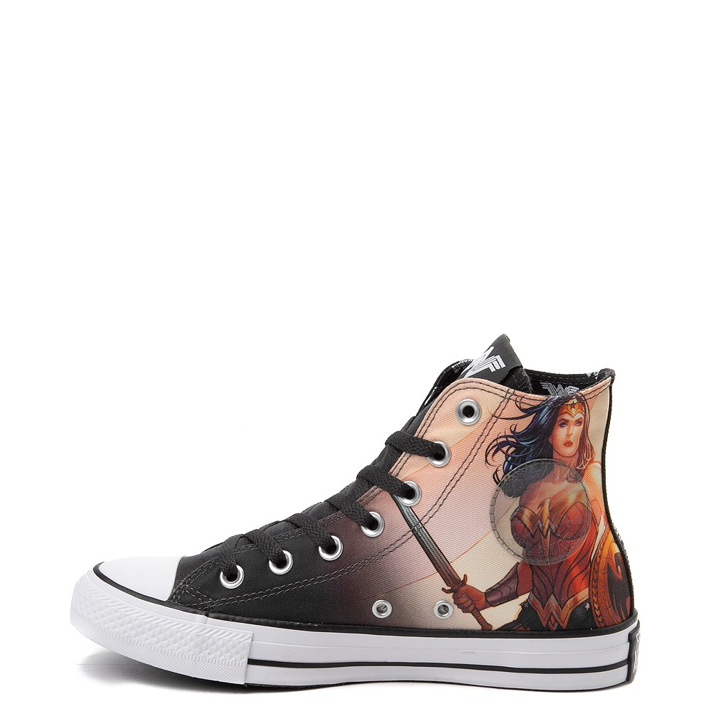 71a1a2bbdbe1 Converse Chuck Taylor All Star Hi DC Comics Wonder Woman Sneaker. Previous.  alternate image ALT6. alternate image default view. alternate image ALT1