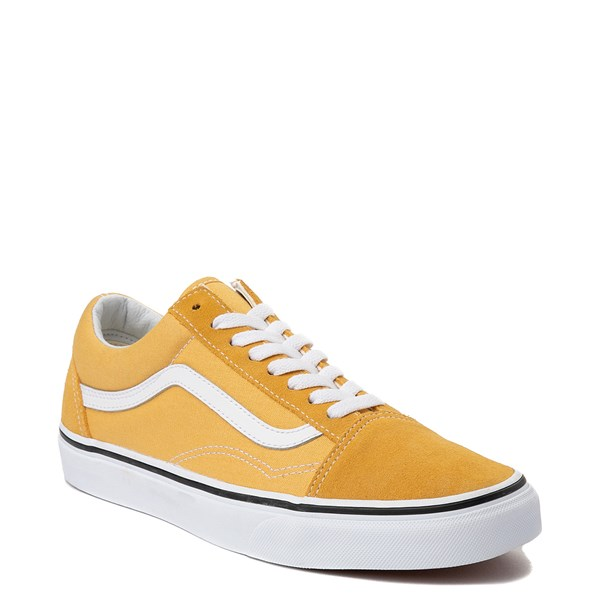 Alternate view of Vans Old Skool Skate Shoe - Yellow