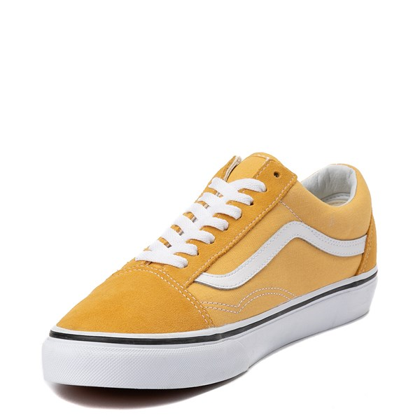 alternate view Vans Old Skool Skate Shoe - YellowALT3