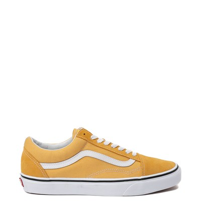 Main view of Yellow Vans Old Skool Skate Shoe