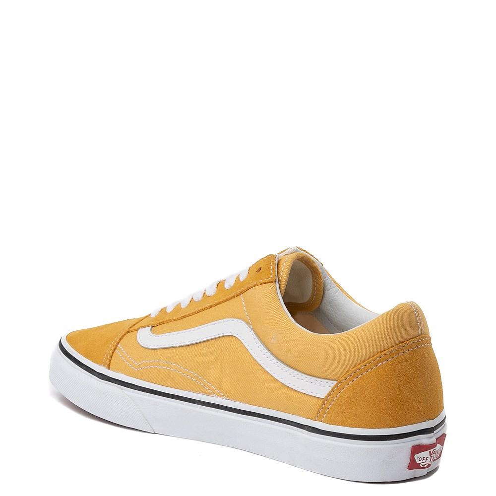 Vans Old Skool Skate Shoe - Yellow