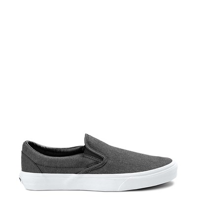 Main view of Herringbone Vans Slip On Skate Shoe