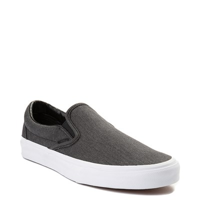 Alternate view of Herringbone Vans Slip On Skate Shoe
