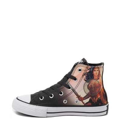 Alternate view of Youth Converse Chuck Taylor All Star Hi DC Comics Wonder Woman Sneaker