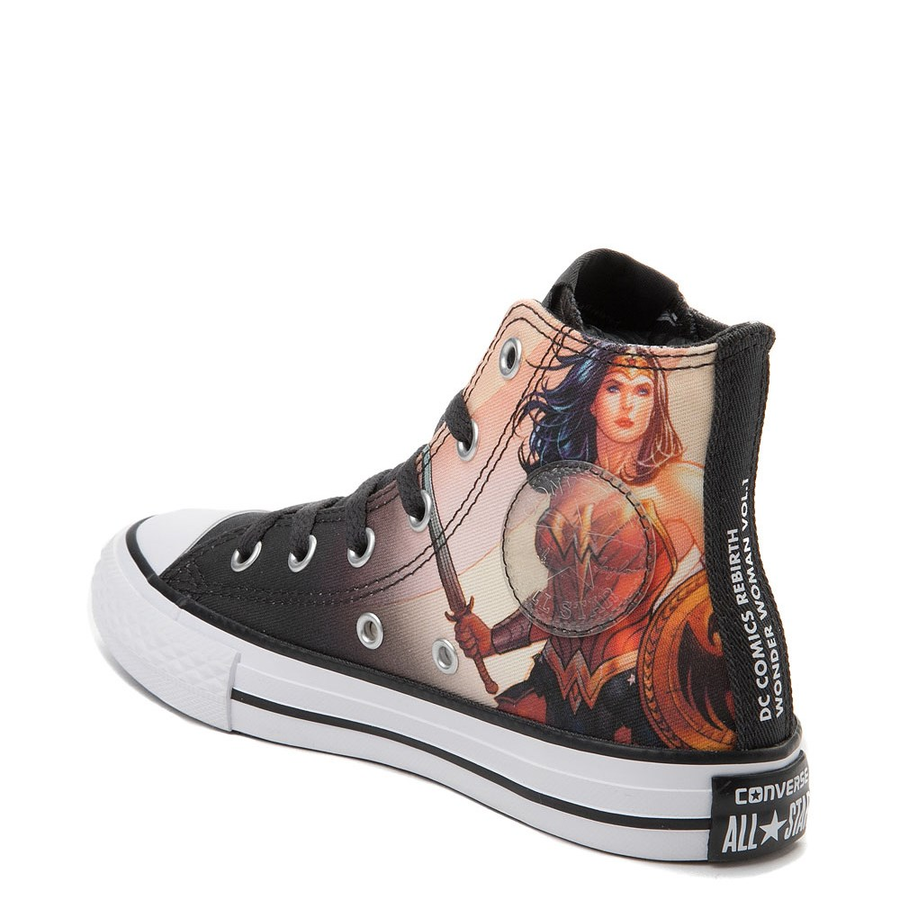 e26baeb9ef6e Converse Chuck Taylor All Star Hi DC Comics Wonder Woman Sneaker - Little  Kid. Previous. ALT1B. ALT2
