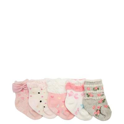 Main view of Crew Socks 5 Pack - Girls Baby