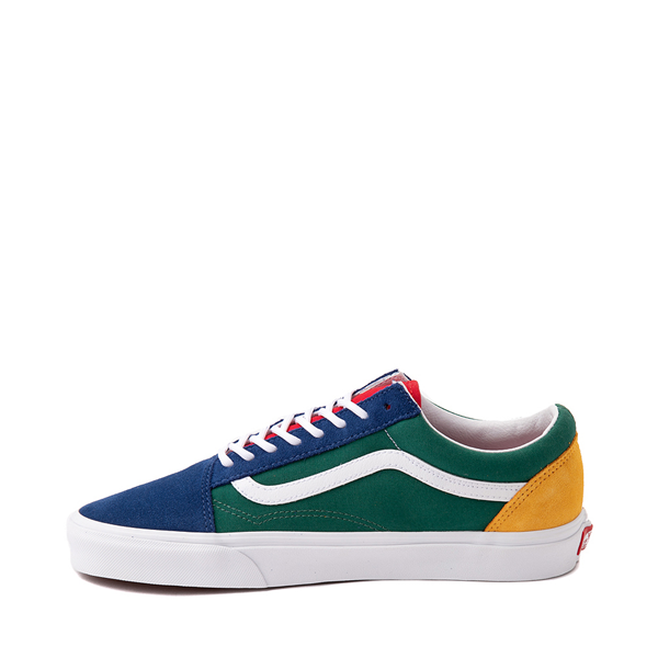 alternate view Vans Old Skool Skate Shoe - Blue / Green / YellowALT1