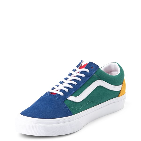 alternate view Vans Old Skool Skate Shoe - Blue / Green / YellowALT3