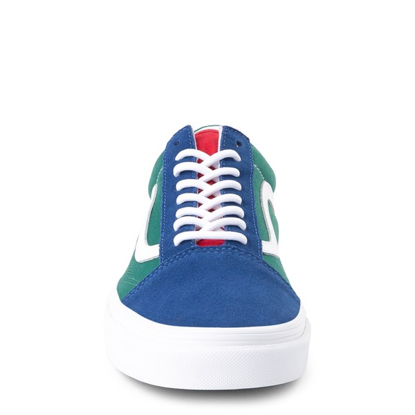 alternate view Vans Old Skool Skate Shoe - Blue / Green / YellowALT4