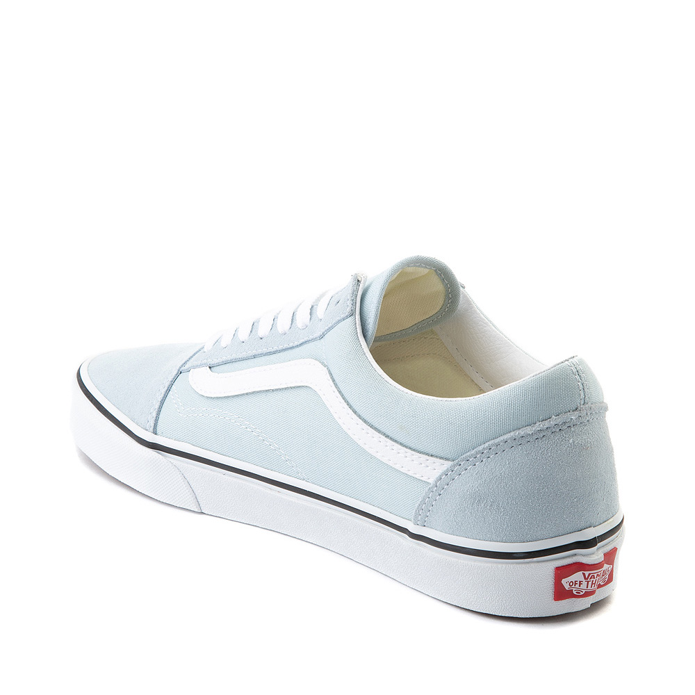 Vans Old Skool Skate Shoe Baby Blue