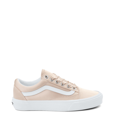 Blush Pink Vans Old Skool Satin Skate Shoe