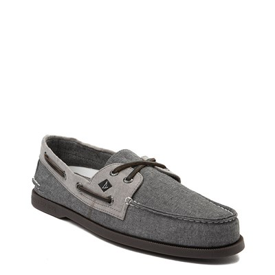 Alternate view of Mens Sperry Top-Sider Authentic Original Boat Shoe - Black
