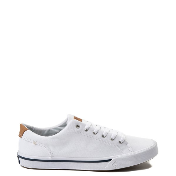 Mens Sperry Top-Sider Striper II Casual Shoe - White