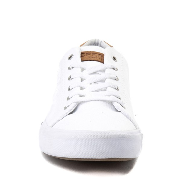 alternate view Mens Sperry Top-Sider Striper II Casual Shoe - WhiteALT4